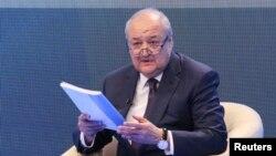 Ўзбекистон ташқи ишлар вазири Абдулазиз Камилов.