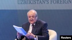 Министр иностранных дел Узбекистана Абдулазиз Камилов.