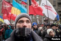 Протест против преследования участников Автомайдана у здания ГАИ, 3 января