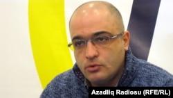 Азербејџанскиот новинар Ејнула Фатулајев.