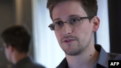 Former U.S. intelligence contractor Edward Snowden