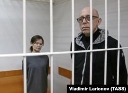 Елена Решетова и Вадим Виноградов