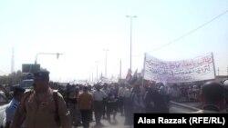 مظاهرات في الحلة