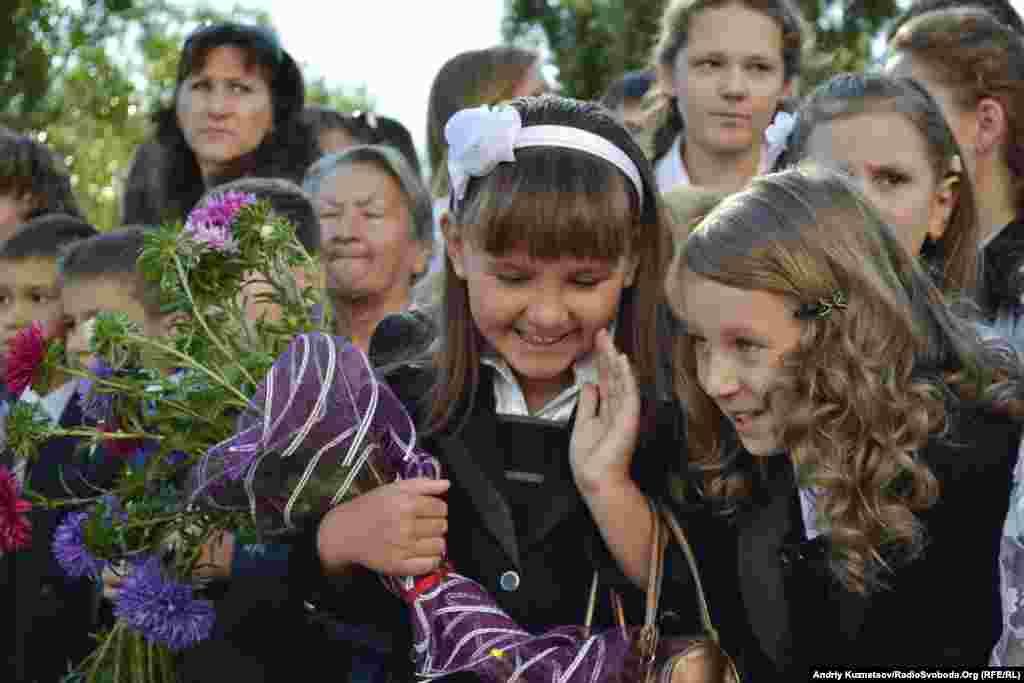 1 вересня у луганській школі-гімназії № 42