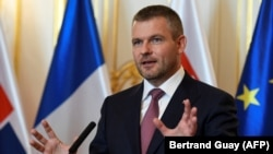 Slovak Prime Minister Peter Pellegrini (file photo)