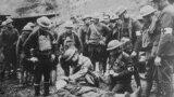 Американские солдаты в Европе (1918)