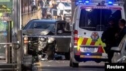 Pamje nga incidenti i sotëm në Melburn