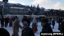 Новогодние гуляния в Керчи, архивное фото
