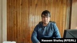 عزیزاحمد تسل عضو گروه دادخواهی و حفاظت از افراد ملکی