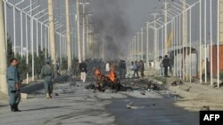 Фото с места теракта в Кабуле, 18 сентября