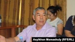 Манап Изатов, президент корпорации «Алтын диирмен». Алматы, 6 сентября 2014 года.