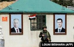 Российский блокпост в Сирии. Лето 2018 года