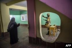 избирательный участок в Каире