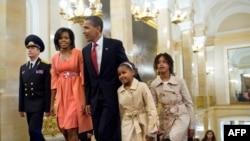 Президент США привез в Россию всю семью