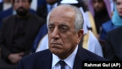 Zalmay Khalilzad, the U.S. special representative for Afghanistan