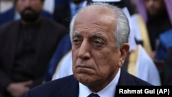 The U.S. special representative for Afghanistan, Zalmay Khalilzad (file photo)