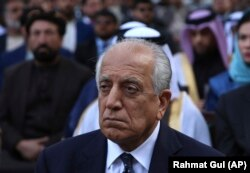 The U.S. special representative for Afghanistan, Zalmay Khalilzad
