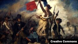 """Свобода на баррикадах"" — картина французского художника Эжена Делакруа"