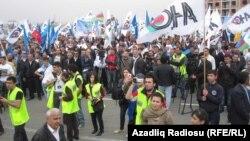 Азербайжанда өткөн оппозиция митинги, 22-сентябрь, 2013-жыл