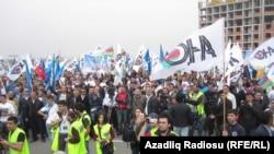 Акция оппозиции 22 апреля. Архивное фото