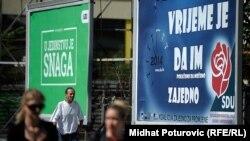 Sarajevo uoči oktobarskih izbora
