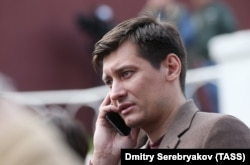 Russian opposition politician Dmitry Gudkov (file photo)
