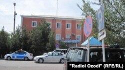 Бинои шӯъбаи корҳои дохилии ноҳияи Бобоҷон Ғафуров.