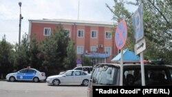 Бинои пулиси ноҳияи Бобоҷон Ғафуров.