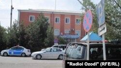 Здание ОМВД Бободжон Гафуровского района