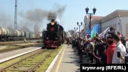 «Поїзд Перемоги» до Криму, архівне фото