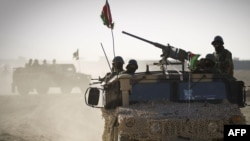 Војници на авганистанската армија