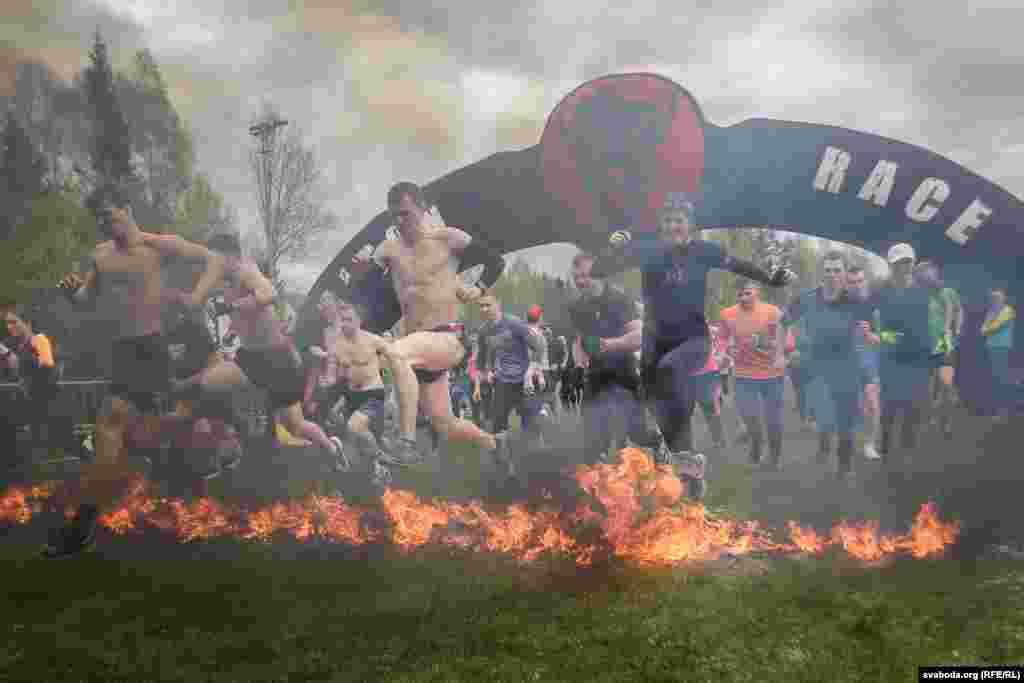 В Силичах, где проходил забег, отборочный этап Чемпионата мира в этом виде спорта, проложены несколько трасс для экстремального бега, длиной от 5 до 15 км.