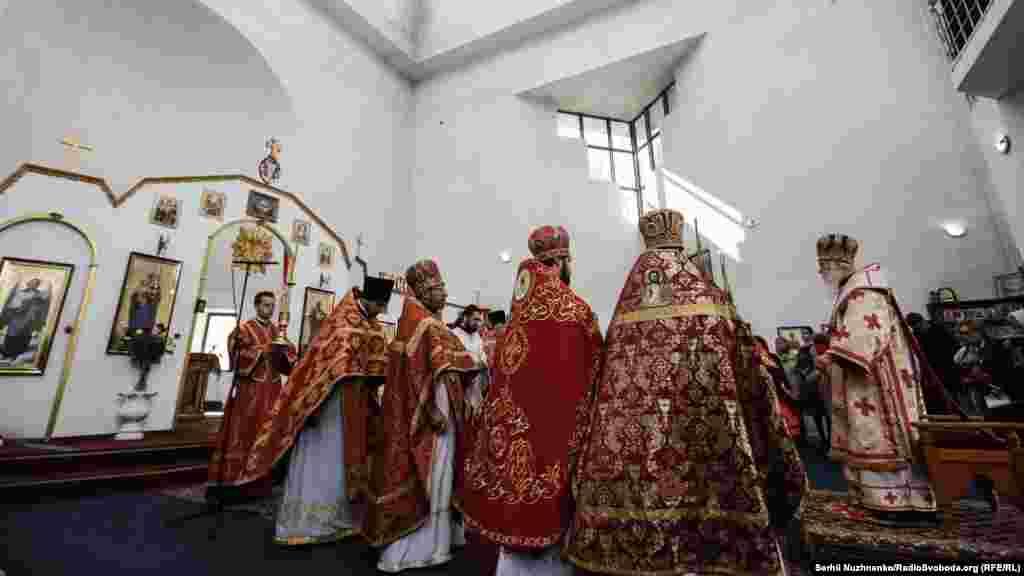 Заупокійна літургія пам'яті загиблих від Чорнобильської катастрофи у Свято-Миколаївському храмі