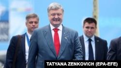 Președintele ucrainean Petro Poroșenko astăzi la summitul de la Bruxelles