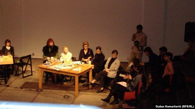 Panel diskusija u Centru za kulturnu dekontaminaciju u Beogradu