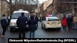 Місце перестрілки в Одесі, 19 січня 2018 року
