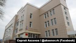 Відкриття підконтрольного Росії Джанкойського районнного суду в Джанкої