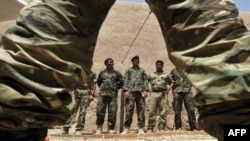 Trajnimi i ushtrisë afgane nga ushtria amerikane