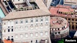 Вид на Институт по работе религии, банк Ватикана. Иллюстративное фото.