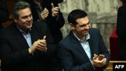 Архивска фотографија: Панос Каменос и Алексис Ципрас