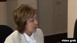 Председатель Государственной комиссии по приему студентов Малейка Аббасзаде, 2013