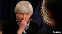Джанет Йеллен - глава Федеральной резервной системы.
