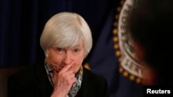 Руководитель Федеральной резервной системы США Джанет Йеллен
