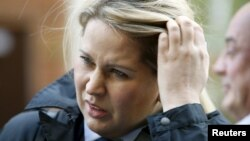 Yevgeniya Vasilyeva, the former head of the Russian Defense Ministry's property relations department, has been controversially released on parole after serving four months of a five-year sentence for embezzlement.