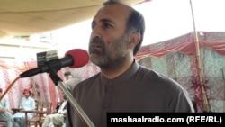 د عوامي نېشنل پارټۍ بلوچستان صوبایي صدر اصغر اڅکزی