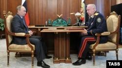 Встреча Путина и Бастрыкина