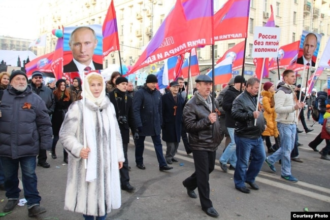 Умалатова поддерживает Путина с самого его прихода к власти