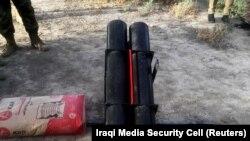 کشف یک راکت انداز کاتیوشا در نزدیکی یک پایگاه در بغداد (عکس از آرشیو)