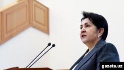 Танзила Нарбаева.