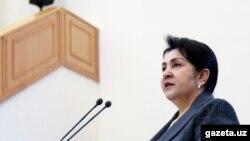 Олий Мажлис Сенати раиси Танзила Норбоева